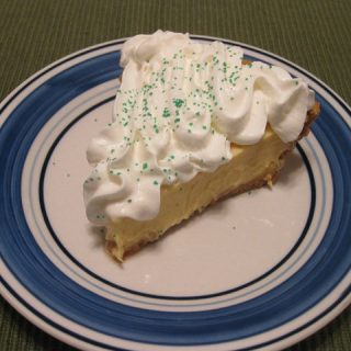 A Healthy Holiday Part 4: Key Lime Pie