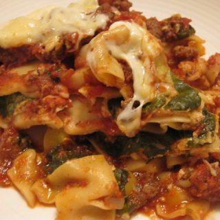 Slow Cooker Fully Loaded Lasagna