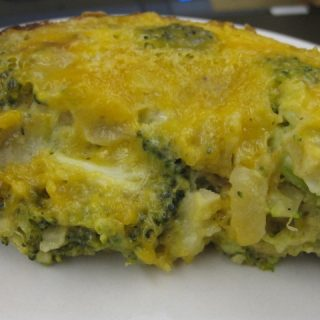 Slow Cooker Broccoli & Cheese Quiche