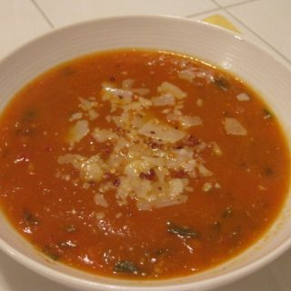 Fresh Tomato Basil Soup Recipe