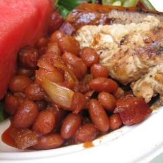 Quick & Easy Slow Cooker Baked Beans Recipe