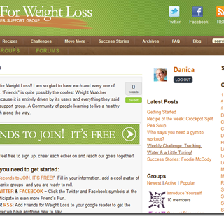 The Weight Watcher Support Group is now LIVE!