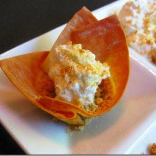 Creamy Pumpkin Pie Bites