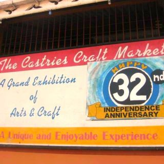 The Castries Craft Market, St. Lucia