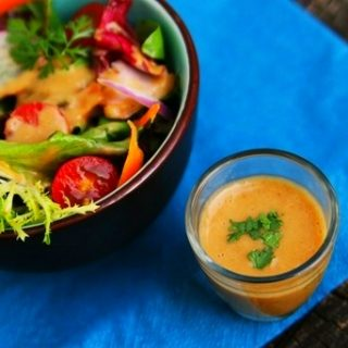 Quick and Easy Peanut Vinaigrette