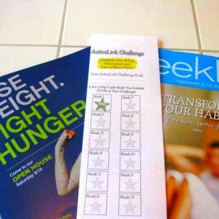 My Active Link Week 1 Results & Weekly Menu