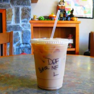 Wordless Wednesday: What exactly is in my latte??