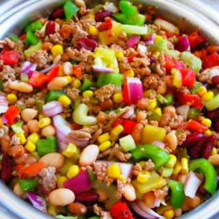 Slow Cooker Turkey Vegetable Chili