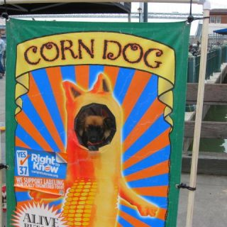 Wordless Wednesday: Corn Dog!
