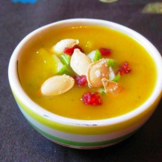Pumpkin, Pear & Ginger Soup, 3 points+