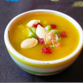 Pumpkin, Pear & Ginger Soup
