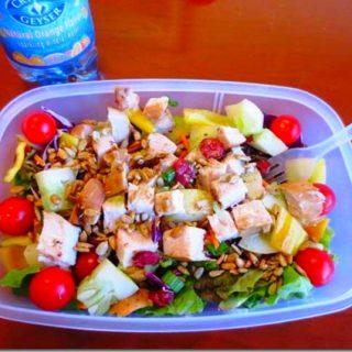 Thai Grilled Jalapeno Chicken Salad