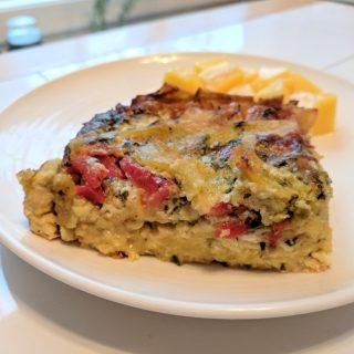 Tortilla, Pepper & Egg Casserole