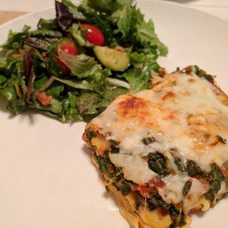 Spinach & Ravioli Lasagna