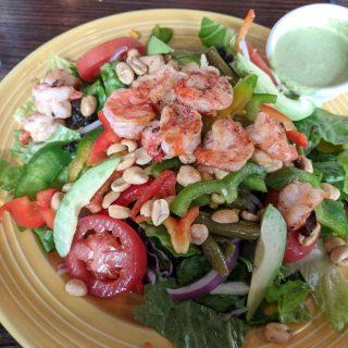The weirdest salad I ever ate…