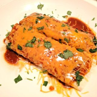 16 Minute Beef & Cheese Enchiladas