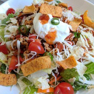 The Salad Week Menu