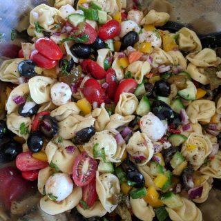 Italian Tortellini Pasta Salad Recipe