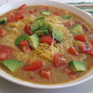 Chipotle Chicken & Chickpea Soup