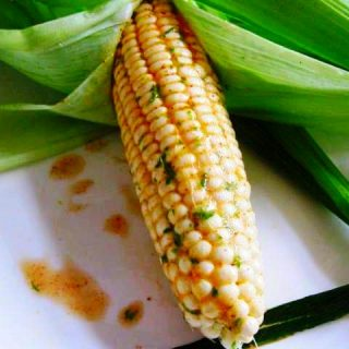 Chile Lime Beer Buttered Corn