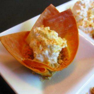Creamy Pumpkin Pie Bites, 1 points+