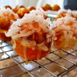 Coconut Donut Holes, 1 points+