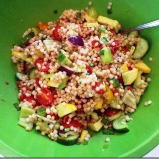Vegetable Israeli Couscous Salad