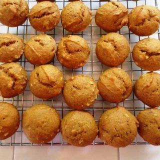 Pumpkin Spice Mini Muffins, 1 points+