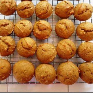Pumpkin Spice Mini Muffins
