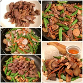 Daily Snap: Beef & Vegetable Stir Fry