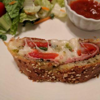 Cheesy, Pesto Stromboli