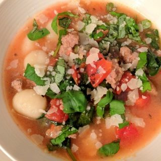 Sausage & Gnocchi Soup