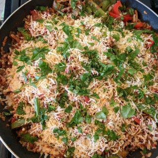 Turkey Fajita Skillet Recipe