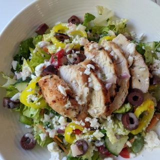 Greek Chicken Summer Salad