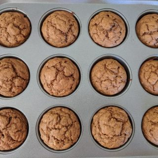 2 Point Pumpkin Banana Muffins & Weekly Menu