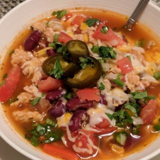 Zero Point Turkey Taco Soup